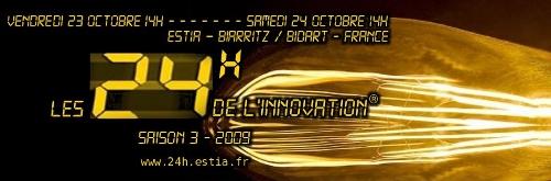 Ankündigung zu den 24h der Innovation